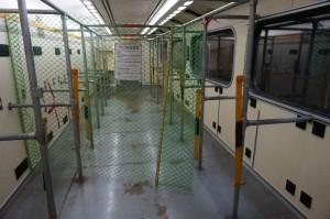 自強號列車上為擺放單車而設的車卡